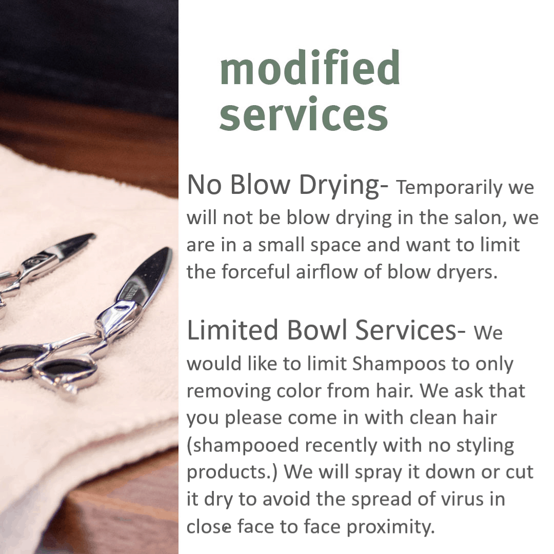 Modified Services